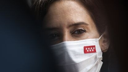 Isabel Díaz Ayuso, el 11 de septiembre.