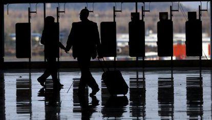 El aeropuerto de Madrid-Barajas