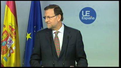 Respuesta de Rajoy sobre Bárcenas