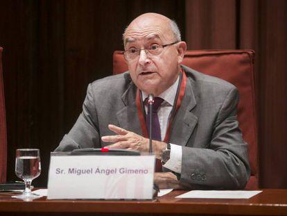 El director de la OAC Miguel Ángel Gimeno.