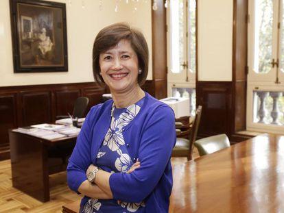 La nueva directora general de Supervisión del Banco de España, Mercedes Olano.