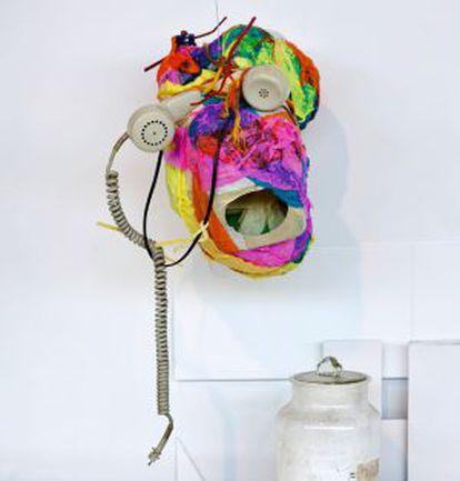 Una obra realizada por un participante del proyecto 'Acompañarte'.