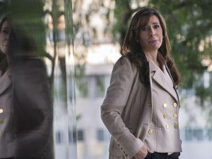Alicia Sánchez Camacho, fotografiada en una calle de Barcelona.