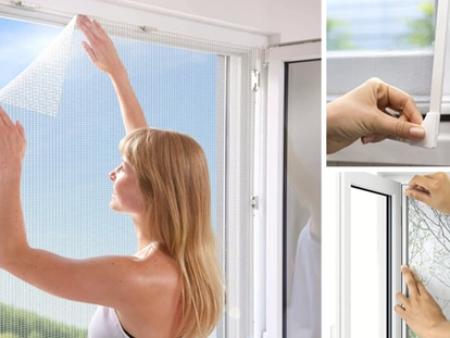 Fáciles de instalar y a un precio económico, estas mosquiteras son una gran solución para cualquier habitación.