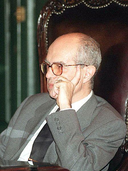 José María Luzón en su etapa como teniente fiscal del Tribunal Supremo.