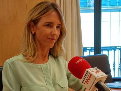 Cayetana Álvarez de Toledo, este jueves en Madrid en una entrevista con Europa Press.