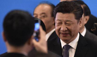 El presidente chino Xi Jinping el 28 de abril de 2016