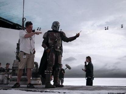 Rodaje de 'The Mandalorian', la serie de Star Wars de Disney+