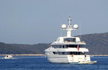 La embarcación del magnate de la Fórmula 1 Bernie Ecclestone.