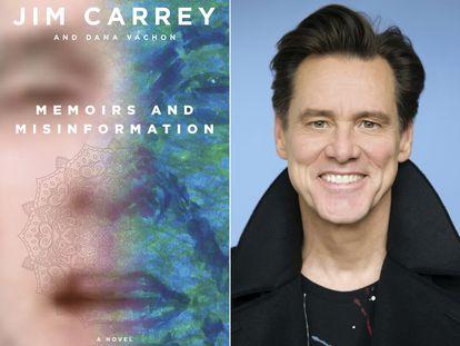 La portada del libro de memorias de Jim Carrey.