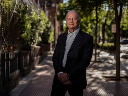Enrique Krauze, el pasado 7 de julio en Madrid.