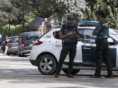 Guardias civiles en una imagen de archivo.