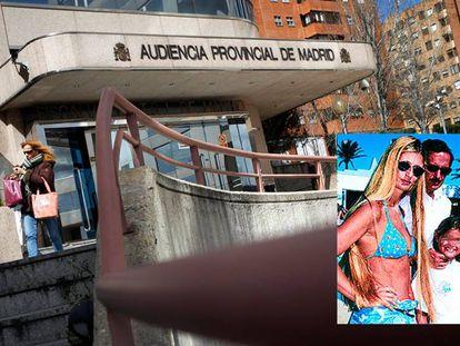 Foto principal: fachada de la Audiencia Provincial de Madrid. En pequeño: El Assir, en una imagen de hace décadas.