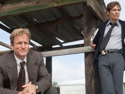 Woody Harrelson y Matthew McConaughey, en la hipnótica 'True Detective'.