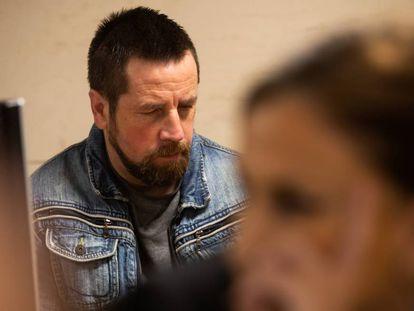 José Enrique Abuín Gey, 'El Chicle', en el juicio por el asesinato de Diana Quer en noviembre de 2019.