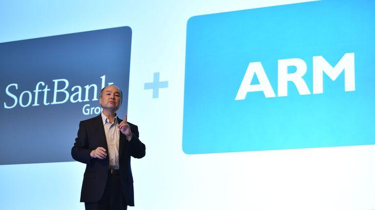 Masayoshi Son, fundador y presidente de SoftBank