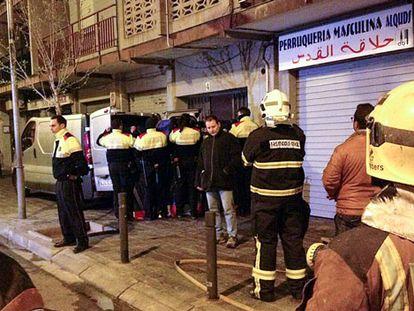 Dolor por los cuatro niños muertos en el incendio de El Vendrell