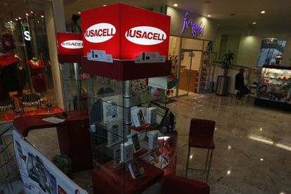 Punto de venta de Iusacell en México DF
