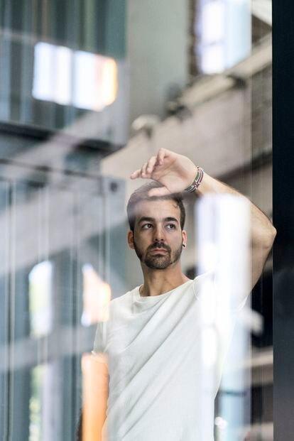 Guillermo Martínez director de Ayúdame 3D   en el centro de inspiración, educación e innovación La Nave, Madrid.