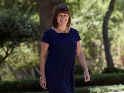 Francina Armengol, presidenta de Baleares, en una imagen de archivo.
