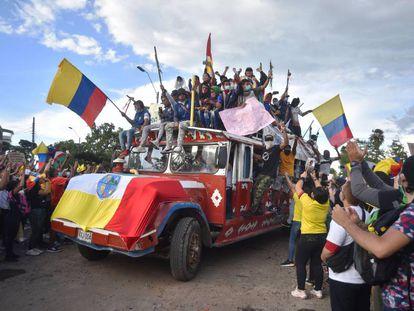 Las protestas en Colombia por la reforma tributaria, en imágenes