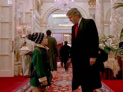 Donald Trump fue una de las estrellas que aparecían en 'Solo en casa 2'.