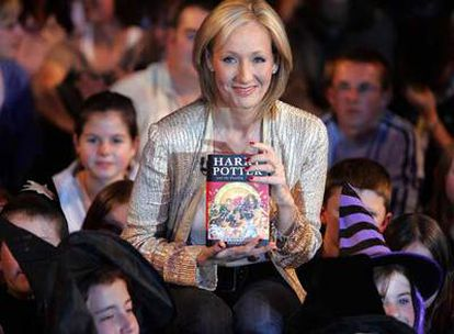 J. K. Rowling, el pasado agosto en el lanzamiento de su última novela.