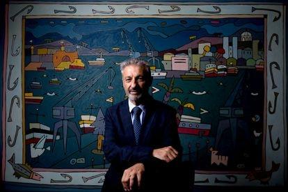 Francisco Toledo, presidente de Puertos del Estado, el 24 de septiembre en Madrid.