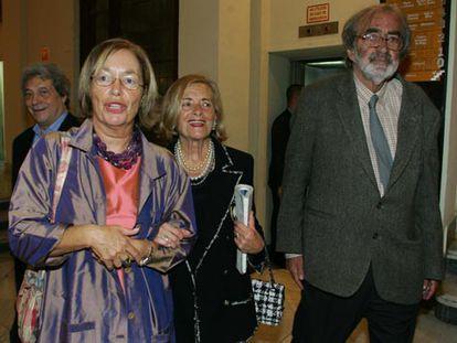 Sancho Gracia, Natalia Rodríguez Salmones, Josefina Aldecoa y Javier Pradera.