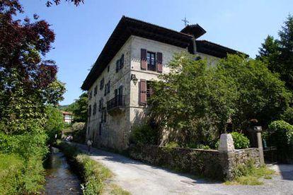 Itzea, casa familiar de los Baroja en Vera de Bidasoa (Navarra).