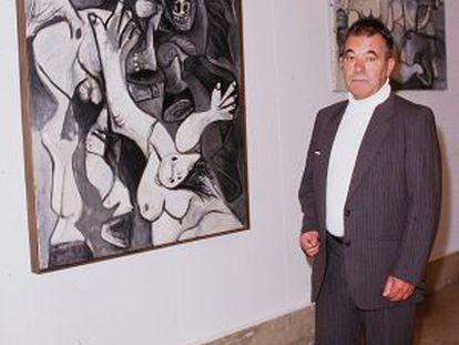 Pierre Daix, escritor, historiador de arte moderno, en 1987.