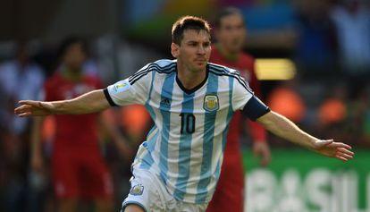 Lionel Messi en junio de 2014.