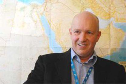 Andrew Harper, responsable de ACNUR en Jordania.