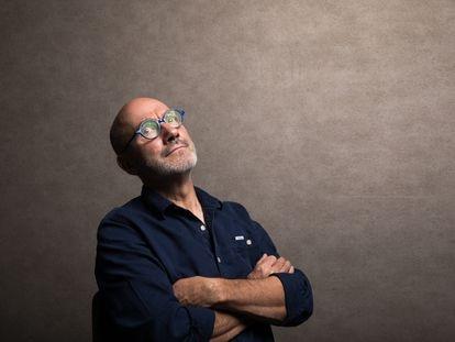 Jean-Yves Ferri, guionista francés de cómics, el lunes 25 de octubre, en Madrid.