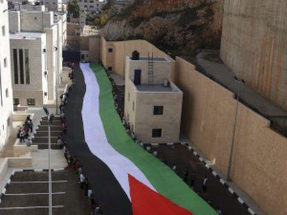 La ciudad cisjordana de Nablus, el 12 de noviembre