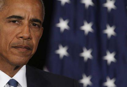 El presidente estadoundiense, Barack Obama.