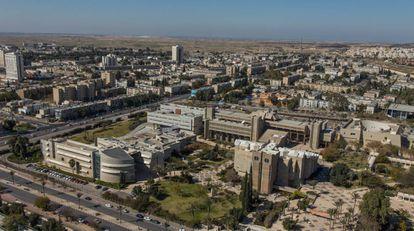 El campus de la Universidad Ben-Gurión del Néguev en Beerseba.