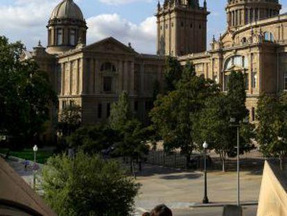 El MNAC es uno de los principales museos de Barcelona.