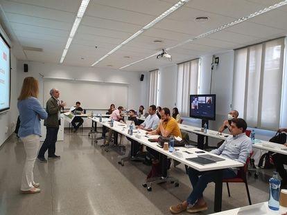 Barcelona School of Management ha invertido 600.000 euros en adaptar sus aulas.