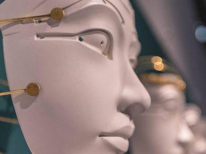 Las máscaras sensoriales de Nicole Vindel, una de las propuestas del Mobile Week del DHub.
