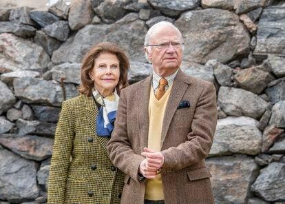 Carlos Gustavo y Silvia de Suecia.