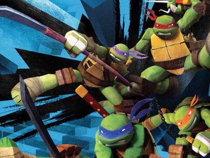 Imagen de 'Las tortugas Ninja'.