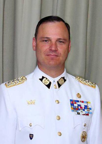 Coronel Germán Villarroel, exdirector de la Escuela Militar de Chile.