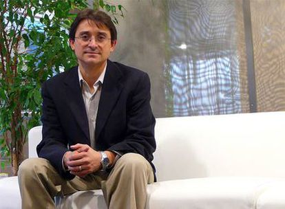 Jordi Ribas, en la sede española de Microsoft.