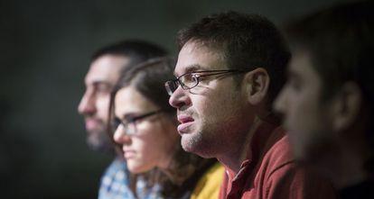 Presentacion de un nuevo plan de actuacion dentro de Podemos.