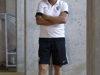 El técnico del Málaga, Bernd Schuster.