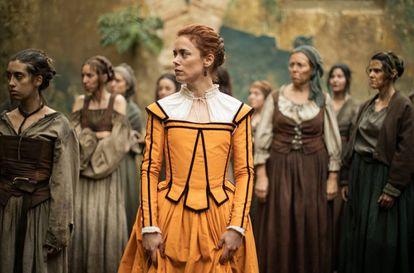Patricia López Arnaiz, en la segunda temporada de 'La peste'.