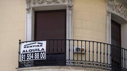 Vivienda en alquiler en el centro de Madrid.