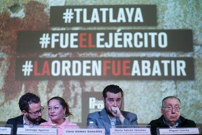 Presentación del informe sobre el caso Tlaltaya