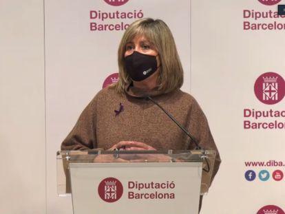 La presidenta de la Diputación de Barcelona, Núria Marín.